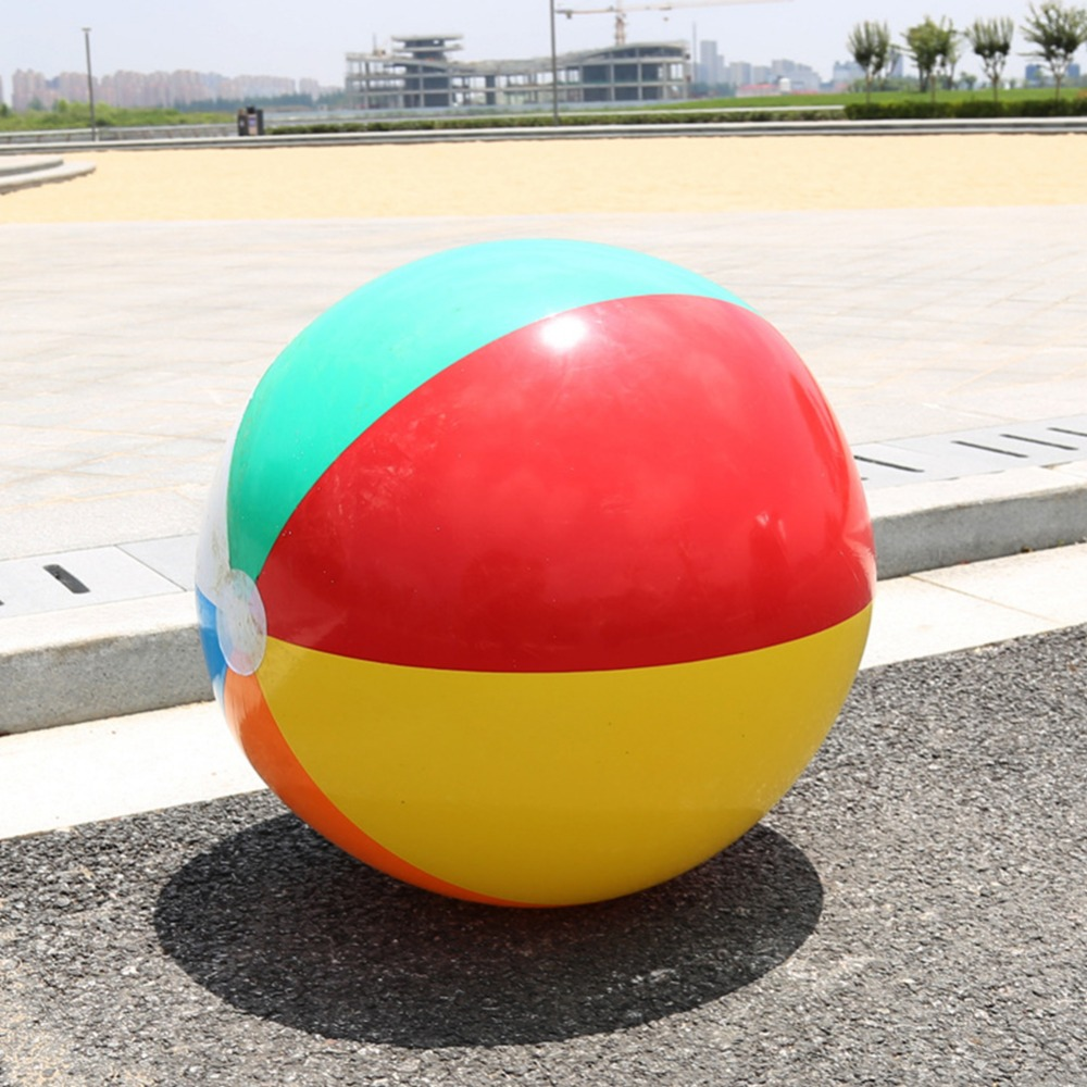 1Pcs Hot Sale Baby Kids Beach Pool Play Ball Inflatable Children Rubber Educational Soft Learning toys 41CM giant Pool float new