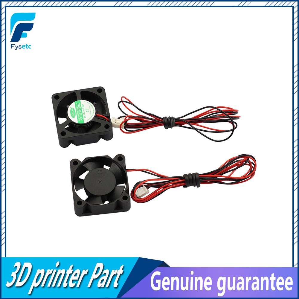 2pcs/lot Mini 12V 3010 30MM 30 x 30 x 10MM 12V 2Pin DC Cooler Small Cooling Fan For 3D Print Part цены
