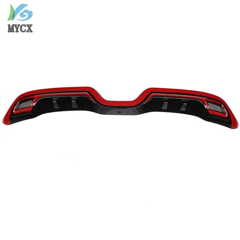 Pour TOYOTA C HR CHR C HR 2016 2017 2018 2019 pare chocs arrière diffuseur garde plaque de protection haute qualité voiture Modification accessoires - 4