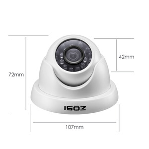 Image 4 - ZOSI 8CH Full 1080P HD TVI Surveillance DVR System,8pcs 1980TVL Weatherproof Indoor/Outdoor Security Cameras with Night Vision