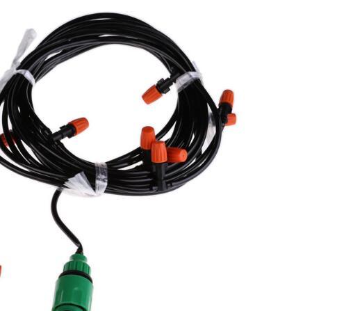 15m hadice Zahradní zahrada Lawn Micro Drip Spray Chladič - Zahradní produkty