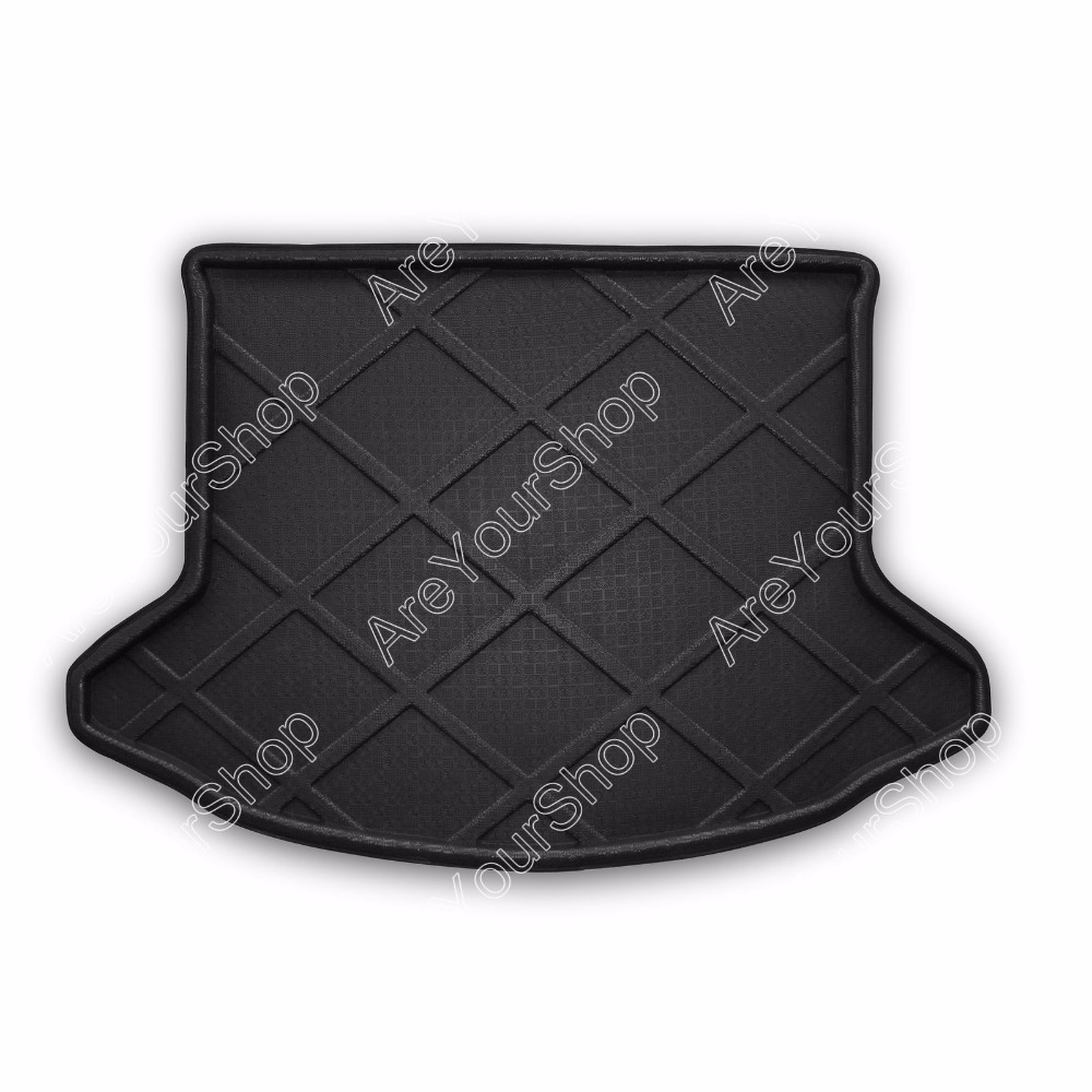 Auto Cargo Mat Boot liner Tray Rear Trunk Sticker Dog Pet Covers For Mazda CX-5 2013-2014 1PCS Black Car-Styling Mat Covers custom fit pu leather car trunk mat cargo mat for audi a6 c7 2011 2012 2013 2014 2015 2016 2017 allroad avant 5d cargo liner