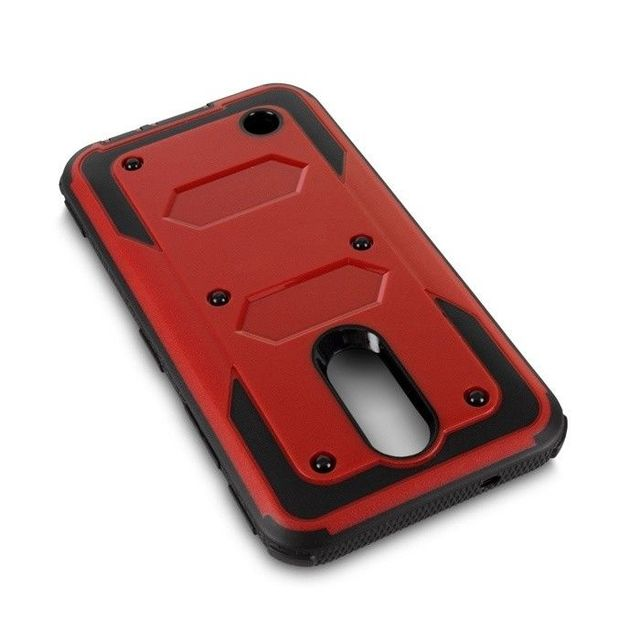 Red Phone case lg k20 armor shockproof 5c64f48292acf