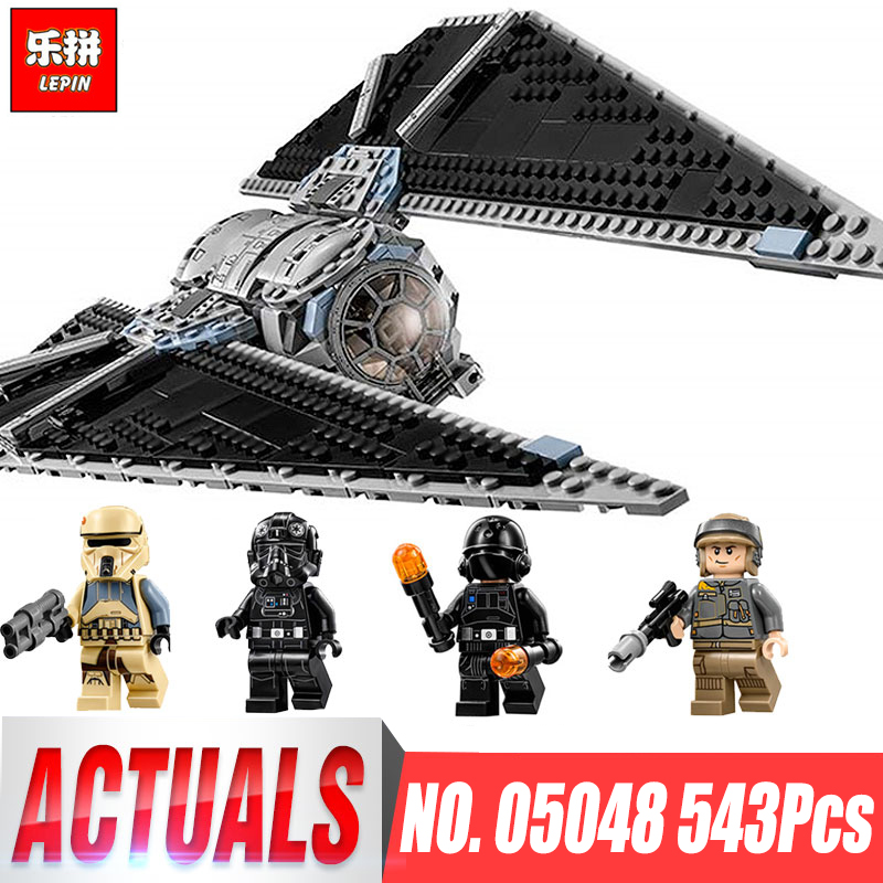 Lepin 05048 Star The TIE Set Striker Children Educational Building Blocks Bricks Toy Wars Compatible legoinglys 75154 Model Toys new 1685pcs lepin 05036 1685pcs star series tie building fighter educational blocks bricks toys compatible with 75095 wars