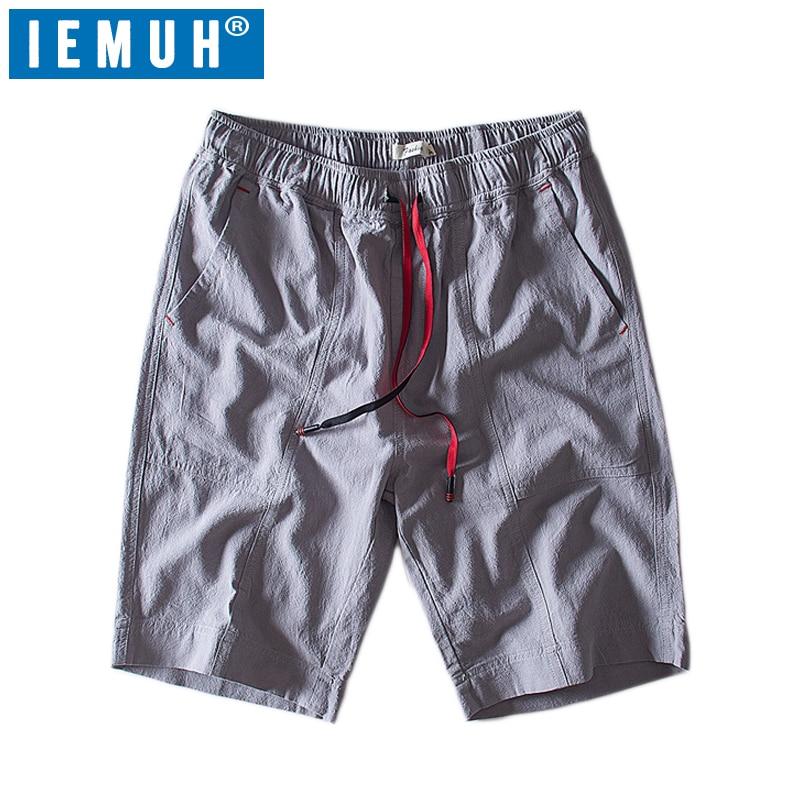 IEMUH Brand Quick Dry Summer Beach Board Shorts Men's Swimmwear Breathable Surfing Swim Shorts Beach Wear Briefs for Men Swim