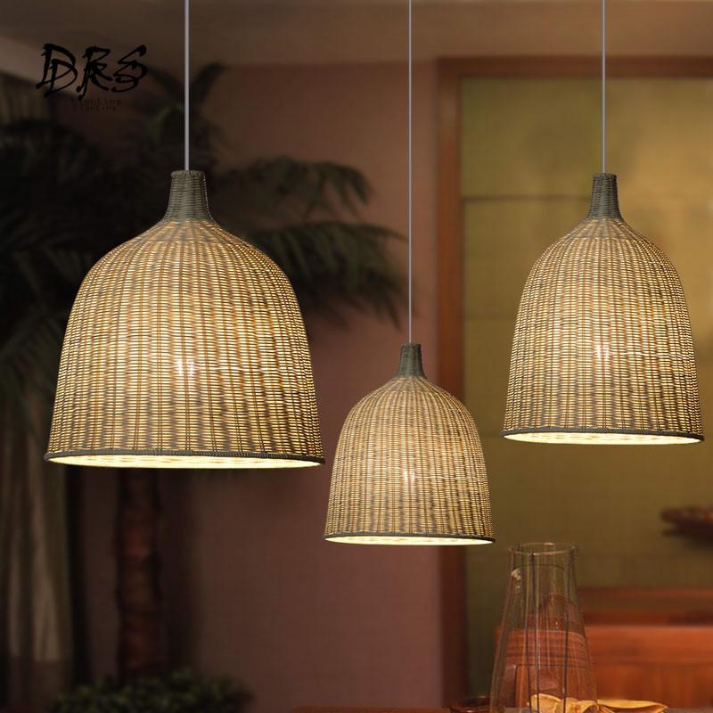 Southeast Asia Rattan Pendant Lights