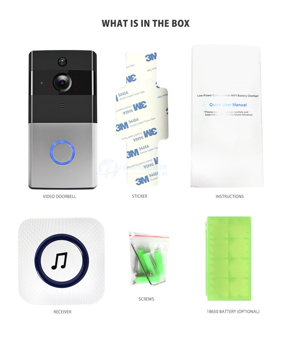 14 Wi-Fi Video Doorbell