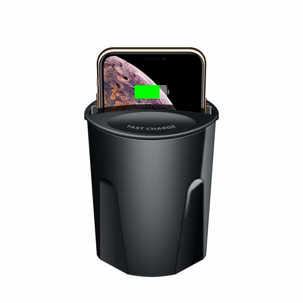 10 ワットユニバーサル充電器カップ iphone 8 プラス XS 最大 XR × ホルダー充電用スタンド銀河 S9 S8 S7 S6 注 8