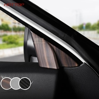 ABS Front Triangle Frame Covers front triangle trim Sticker Fit For Toyota Camry 2018 2019 8 8th Interior Accessories