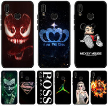 Luxury Mickey Marvel Venom For Huawei P8 P10 P20 P30 Mate 10 20 Honor 8 8X 8C 9 10 Lite Plus Pro Case Cover Coque Etui Funda(China)