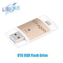 LL трейдер 64 ГБ флешки USB Flash Drive для iPhone Android флэш-накопитель USB iOS OTG мини ручка для iPad disk Storage Memory Stick
