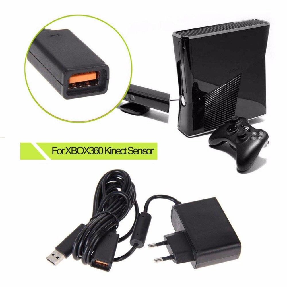Al por mayor FW1S nuevo USB de la UE adaptador de CA fuente de alimentación para Xbox 360 para XBOX360 Kinect Sensor