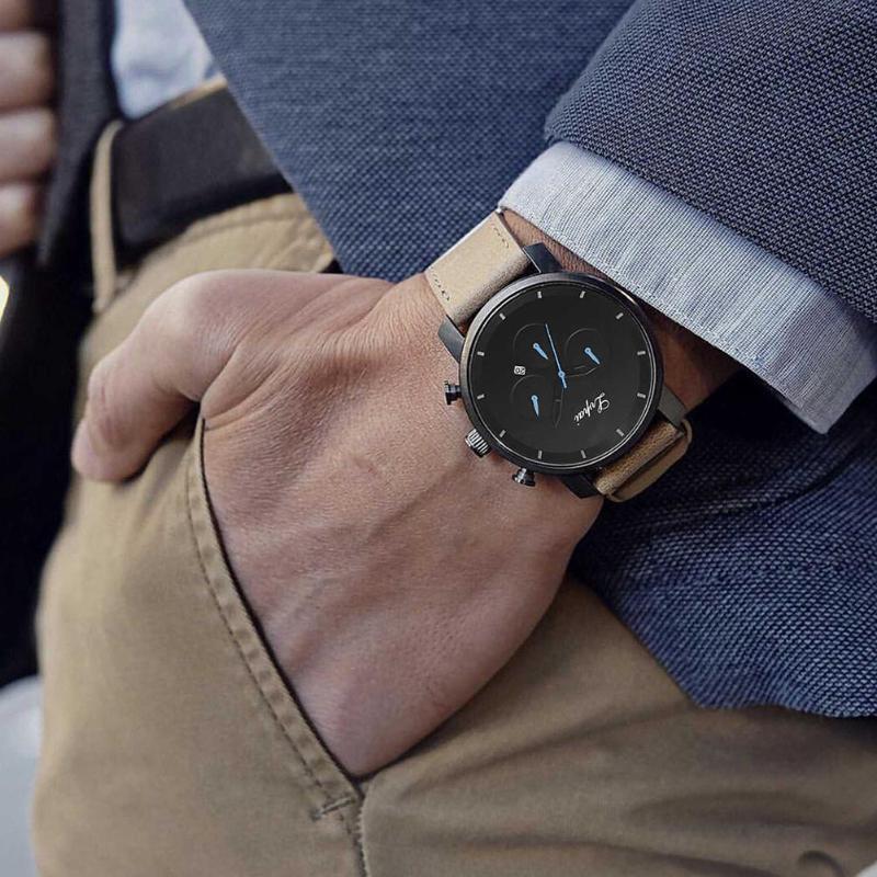 2018 Fashion Quartz Watch Men Watches Top Brand Luxury Male Clock Business Mens Wrist Watch Mens Hours Relogio Masculino watch men top luxury brand relogio masculino leather quartz mens watches creative male wrist watch business casual clock xfcs
