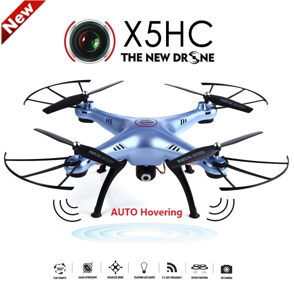 SYMA X5HC 4 CH 2 4GHz 6 Axis font b RC b font Quadcopter With 2MP