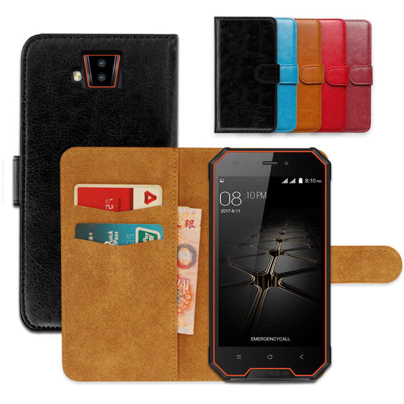 Luxury wallet case for Blackview BV4000 / BV4000 pro PU Leather Exclusive Slip-resistant Flip Ultra-thin Phone Cover,book case