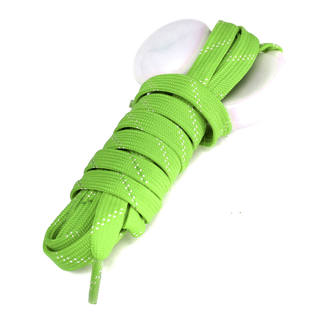 10pcs( ASDS LED Flash Luminous Light Up Glow Nylon Strap Shoelace Shoe Laces Party Nightclub