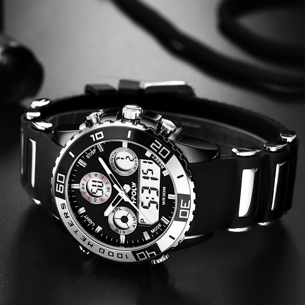 2017 Men Military Watch Electronic Military Luxury Watch Men LED Male Clock Casual Brand Wrist Digital-Watch Relogio Sport цена