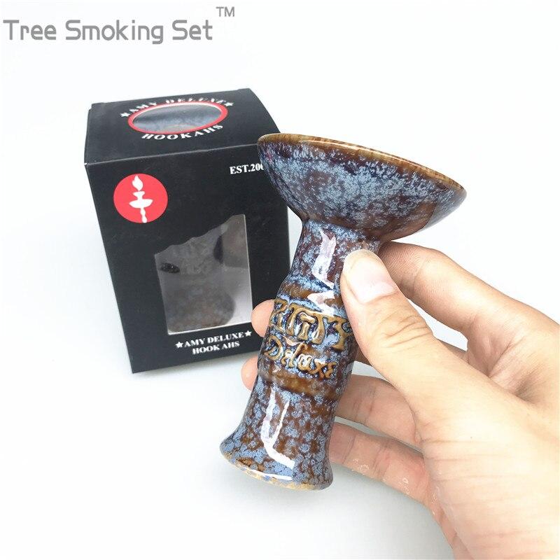 1 pièces amy delux boîte narguilé bol accessoires narguilé narghile kohle starbuzz al fakher usage du tabac bon sentiment fumer shisha