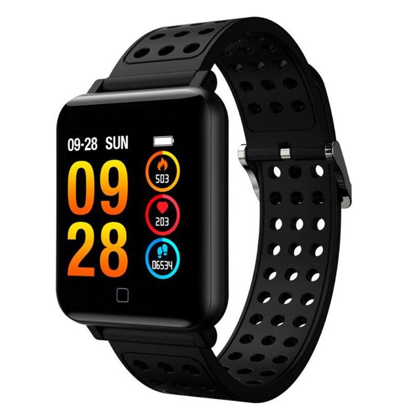 M19 Smartwatch Screen Gorilla Glass Blood oxygen Blood pressure BRIM IP68 Waterproof Activity Tracker Smart Watch цена