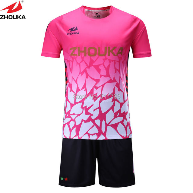 63b73bf3e8e Custom personality men s short sleeve sublimation soccer jersey ...
