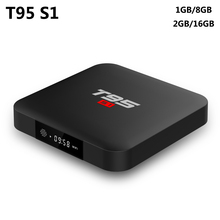LED Android 7.1 TV BOX T95 S1 2GB RAM 16GB ROM Amlogic S905W