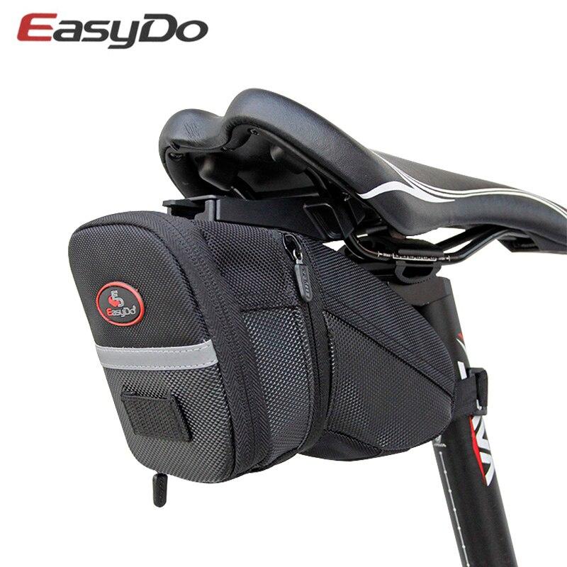Easydo Bicicleta Saddle Bag Ciclismo Banco Traseiro traseiro À Prova D' Água Sacos Saco De Armazenamento Bolsa Saco de MTB Bicicleta de Estrada Acessórios Da Bicicleta
