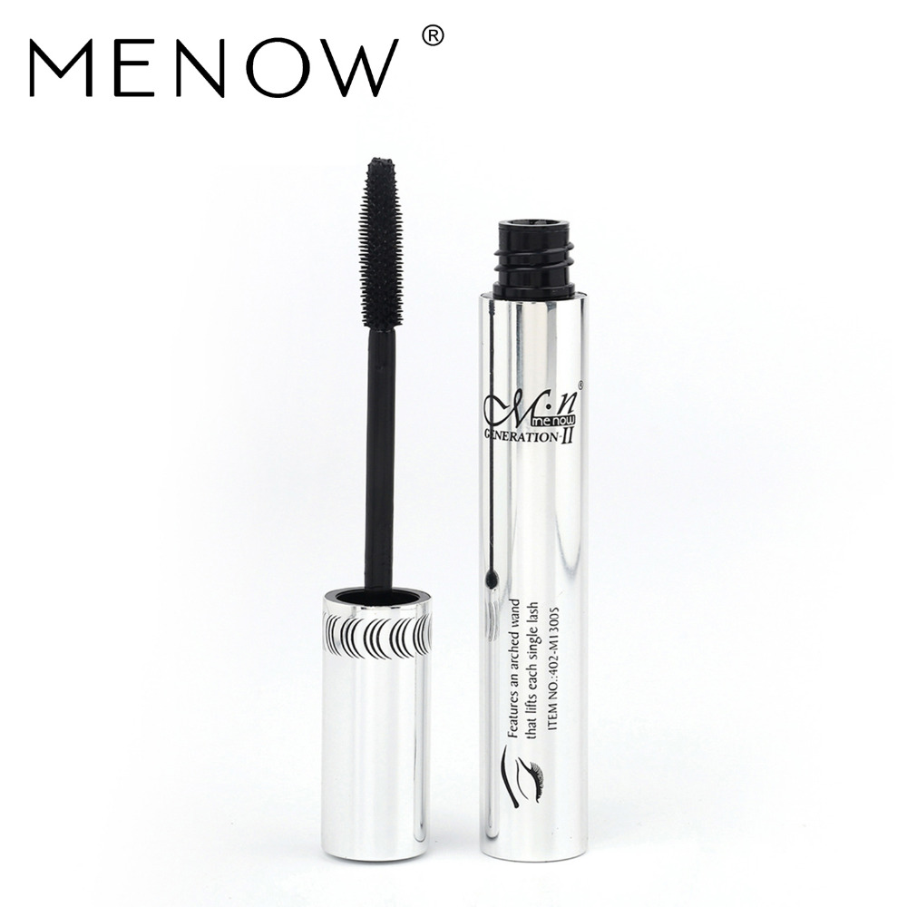 Menow M.N. 3D Fiber Lash Mascara Lash Power Extension Visible Menow Eyelash Mascara Cosmetics Waterproof M13005