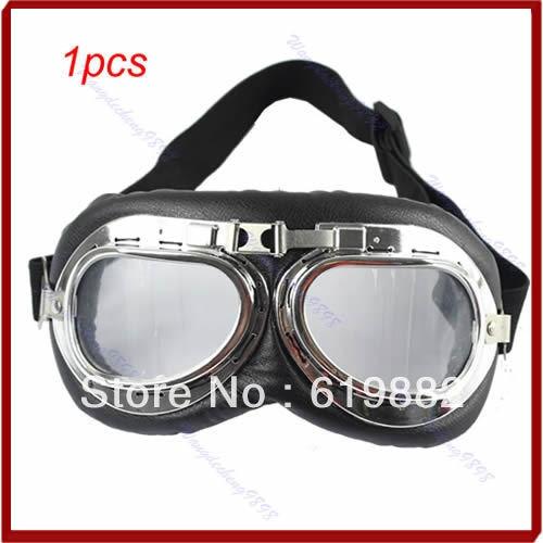 3d0866685 1 قطع الدراجات النارية سكوتر atv القيادة نظارات نظارات نظارات عدسة واضحة