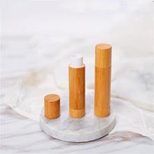 1 шт 5 г бамбуковый тюбик для губной помады пустой бальзам губ