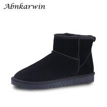 Супер теплый мех зимние мужские ботинки Новинка 2019 года защитная обувь для мужчин Нескользящие повседневное безопасн