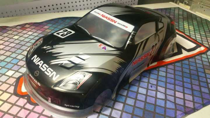 🛒 [HOT DEAL]   2018 New arrival R35 PVC painted body shell