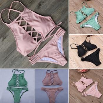 Swimwear Women Bikini 2017 Swimsuit Bathing Suit Brazilian Beachwear Push Up Bikini Set Maillot De Bain Biquini Swim Wear Biquni 10