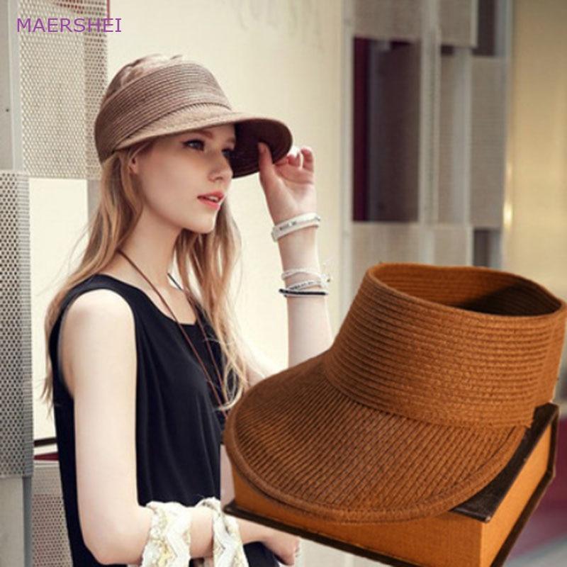 MAERSHEI Topi perempuan musim panas perjalanan di luar ruangan topi - Aksesori pakaian - Foto 1