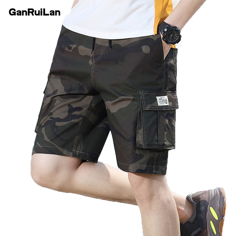 2019 Modis Short Men Cool Camouflage Summer Hot Sale Cotton Casual Army Pants Brand Clothing Comfortable Sweatpants KZ19005