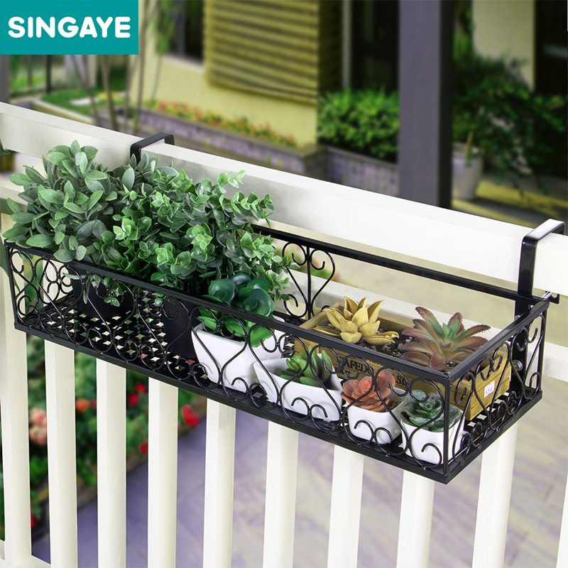 SINGAYE Balcony Plant Storage Shelf for Succulent Flower