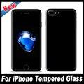 2 unids/lote 9 h 0.3mm 2.5d vidrio templado para el iphone 7 6 front + back 6 s plus protector de pantalla de cristal película protectora