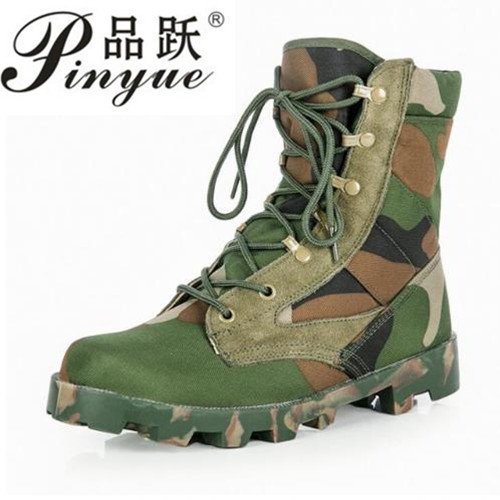 2018 new hot Military Handsome Breathable Tactical Men Boots Army Combat Camouflage Boots size 39 46