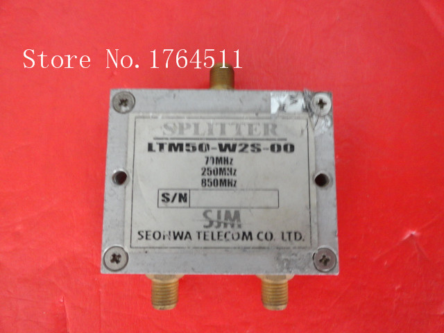 [BELLA] A Two SEOHWA Power Divider LTM50-W2S-00 70-800MHz SMA