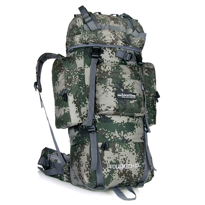 Newest Large Capacity Sports Molle Tactical Bags 85L Outdoor Waterproof Men Women Travel Backpack Military Climbing Hiking Bag free shipping men women unisex outdoor military tactical backpack camphiking bag rucksack 50l molle large big ergonomic gear