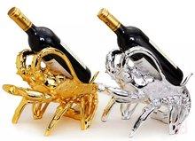 Free shipping European modern wine wedding present household items furnishing articles lobster decorations  wine rack barware