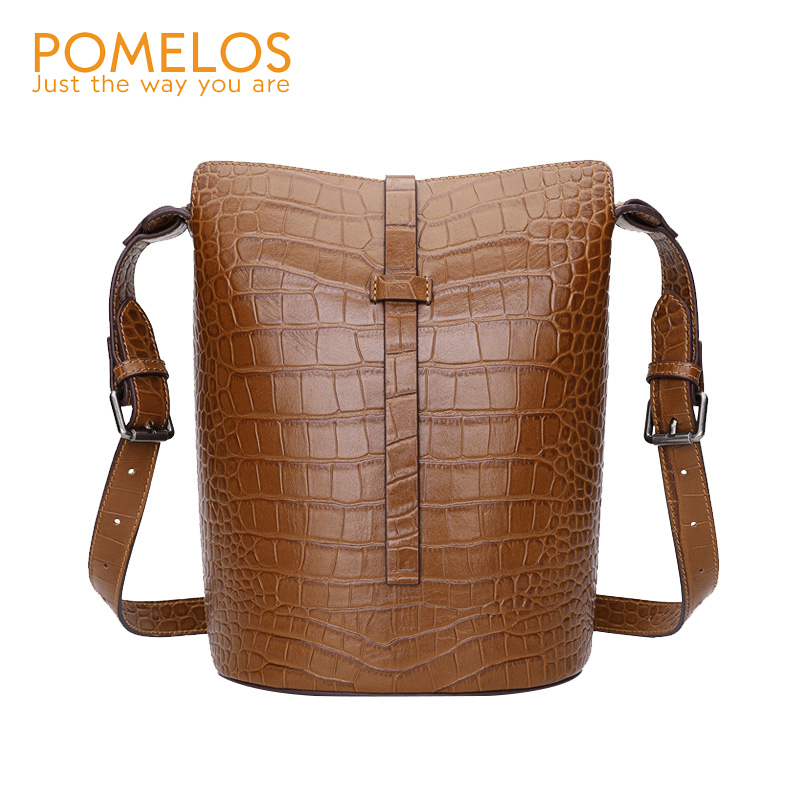 POMELOS Shoulder Bag Women Genuine Leather Crossbody Bags For Women Designer Women Messenager Bags Female Purses And HandbagsPOMELOS Shoulder Bag Women Genuine Leather Crossbody Bags For Women Designer Women Messenager Bags Female Purses And Handbags
