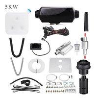 2/3Kw 5kw 8KW LCD/Knob/Digital Switch Single hole heater with muffler Black plaid
