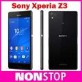 Оригинальный Разблокирована Sony Xperia Z3 D6603 3 г и 4 г Android четырехъядерный процессор 3 ГБ Ram 20.7mp Камера Wi-Fi Gps 16 ГБ Памяти восстановленное