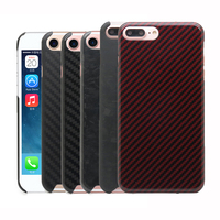 100% Real Carbon Fiber Back Case Cover For iPhone 6 6S 6 Plus 7 8 Plus 8Plus 7Plus Aramid Fiber Case 0.7mm Ultra Thin N