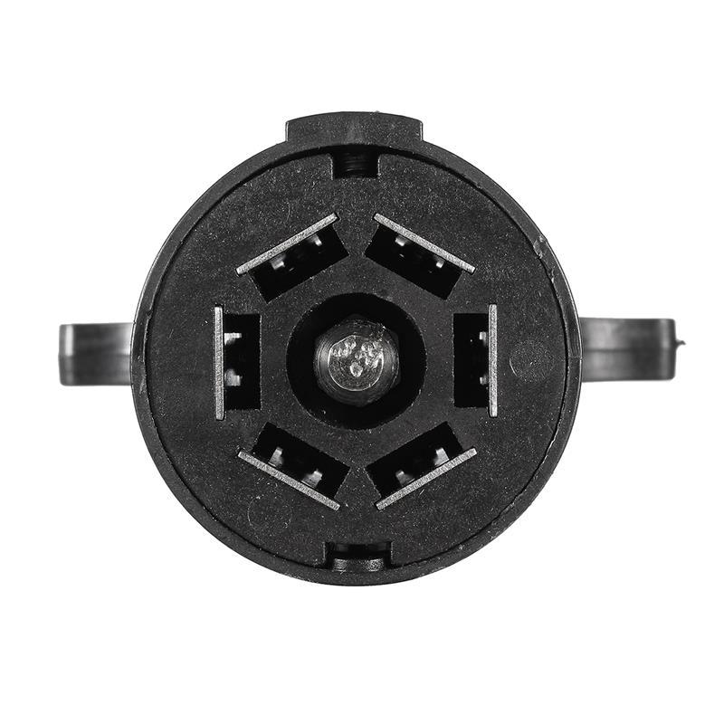 7 Pole 7 6 wege rundstecker Buchse Stecker Adaper + 7 Pin Stecker ...