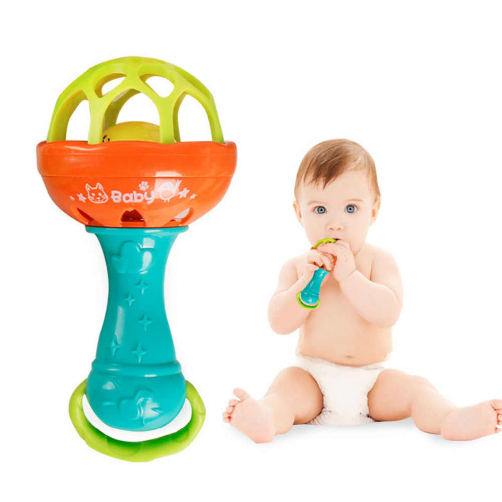 Baby Rattles Mobiles Toys Jingle Doll Kids Children Educational Rattles Bed Bell Fun for Infant Polly Music Jewelry Box Cribs