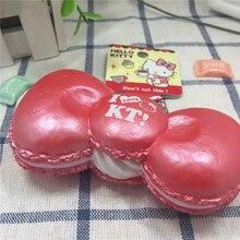 1 PCS hello kitty bow squishy toys kuwaii squishys toy cell phone charm jumbo Squishies original