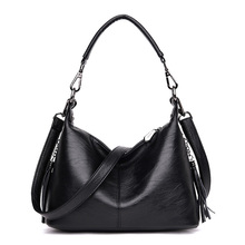 Vintage Women Handbags High Quality Casual Tote Bag Luxury Shoulder Messenger Bags Design Women Genuine Leather Bag Sac a Main