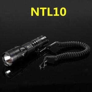 Image 2 - Nitecore NTL10 NTL20懐中電灯戦術的なストラップパンチステンレス鋼リング安全ロープ25.4ミリメートル直径ランプ