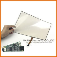 16:9 Flexible 12 12.1 Inch includes USB Controller 4 Wire USB or Serial Pellicle Touch Screen Panel Kit for Tablet and PC